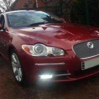 Custom Ring Daytime Running Lights (DRL's) fitted to Jaguar XF 3.0D